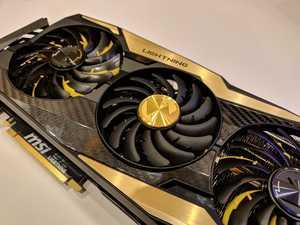 MSI GeForce RTX 2080 Ti Lightning Z (Bild: HardwareChanucks)