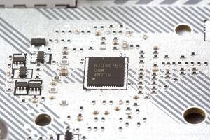 Als PWM-Controller verwendet MSI den Richtek RT3607BC.