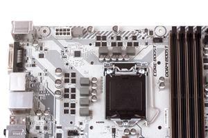 Sieben Spulen feuern die Coffee-Lake-S-CPU an.