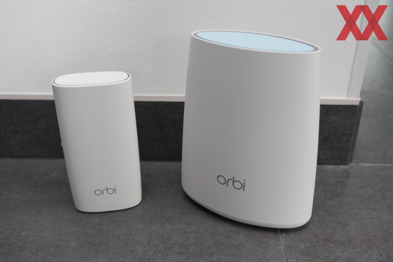 Netgear Orbi RBK40 und RBK30