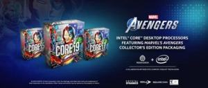 Intel Marvel's Avengers Collector's Edition Packaging