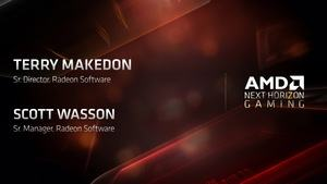 AMD Präsentation zur Radeon Software