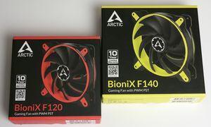 Arctic BioniX F120 und BioniX F140