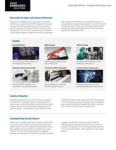 AMD veröffentlicht EPYC Embedded und Ryzen Embedded
