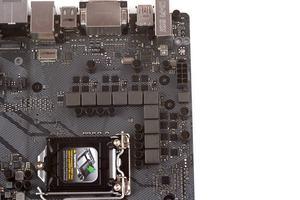 Die CPU wird von zehn Spulen angetrieben.