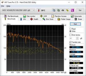 WD Blue 6 TB WD60EZRZ Benchmarks