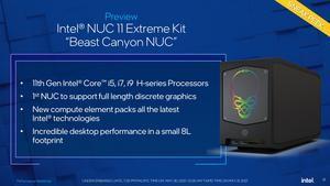 Intel NUC 11 Extreme Kit