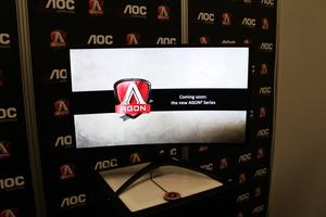 AOC Agon 3: Neues Design, HDR und schnellere Panels ab 2018