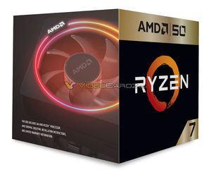 AMD Ryzen 7 2700X 50th-Anniversary-Version
