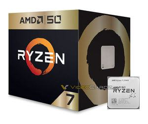 AMD Ryzen 7 2700X 50th-Anniversary-Version