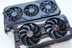 ASUS TUF Radeon RX 5600 XT O6G Evo Gaming und Sapphire Pulse Radeon RX 5600 XT 6G