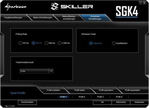 Sharkoon Skiller SGK4