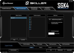 Sharkoon Skiller SGK4