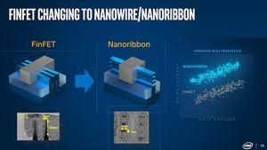 Intel zu Transistoren mit Nanobändern