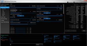 Mit dem XTU-Tool von Intel und über NVIDIAs GeForce Experience können die Einstellungen getätigt werden
