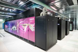 Der Hawk-Supercomputer am HLRS (Quelle: HLRS)
