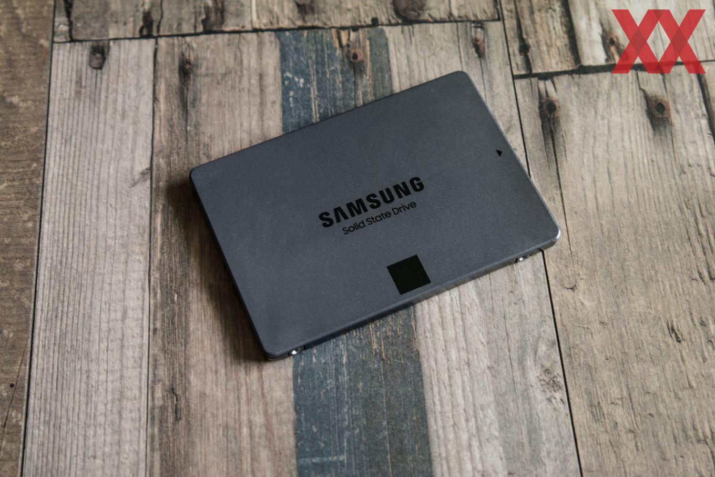 Samsung bringt die SSD 860 QVO lediglich als 2,5-Zoll-Laufwerk auf den Markt