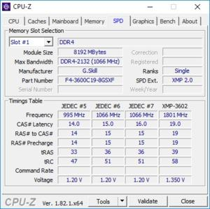 G.Skill Sniper X DDR4-3600