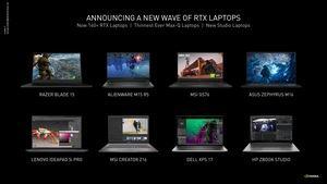NVIDIA GeForce RTX 3050 (Ti) Laptop