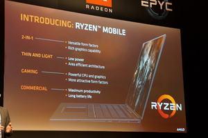 AMD zur RYZEN Mobile auf der Computex 2017