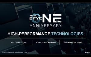 AMD feiert den 1. Geburtstag der EPYC-Prozessoren