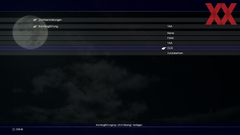 Final Fantasy XV mit DLSS-Option