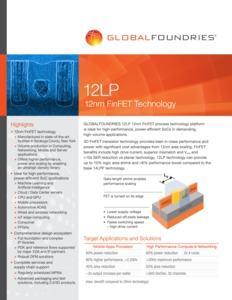 GLOBALFOUNDRIES 12LP+