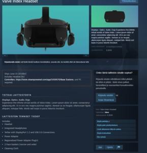 Valve VR-Brille Index Leak