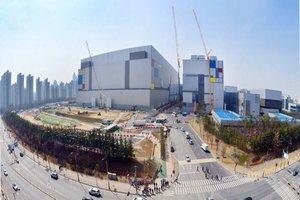 Samsung Fabrik in Südkorea