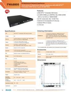 Produkte mit Epyc Embedded von iBase