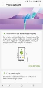 Im Zusammespiel mit S Health soll die Samsung Gear Fit2 Pro einen gesünderen Lebensstil ermöglichen