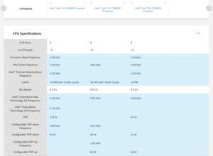 Intel Core i9-11900KB