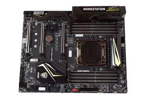 Das MSI X99A Workstation nochmal in der Übersicht.