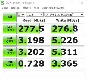 WD DC HC530 - CrystalDiskMark