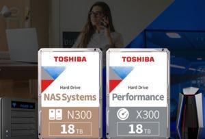 18 TB Festplatten Toshiba