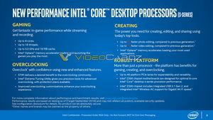 Leak zu den Intel Core-i-9000-Series-Prozessoren