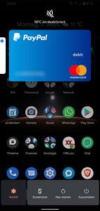Power-Menü unter Android 10