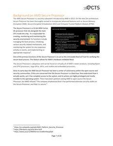 Whitepaper zur den AMDFlaws
