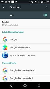 Auch bei Deaktivierung der Standortdienste sammelt Android im Hintergrund entsprechende Daten