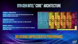 Der Name täuscht: Der Core i9-9900K könnte technisch auch der achten Generation zugeordnet werden, denn umfangreiche Änderungen an der Architektur gibt es nicht
