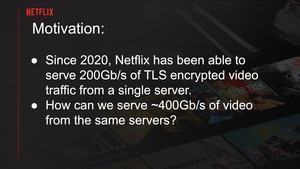 Netflix auf der EuroBSD 2021