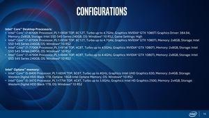 Intel 8th Gen Destop Coffee Lake Pressdeck