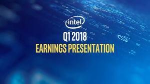 Intel Quartalsergebniss Q1 2018