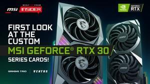 MSI GeForce-RTX-30-Serie