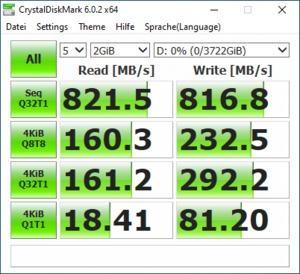 Crucial X6 SSD 4 TB