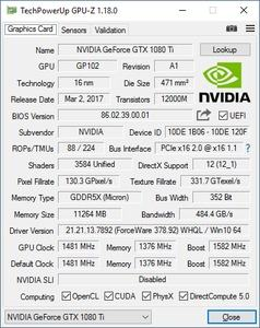 Caseking KingMod GeForce GTX 1080 Ti FE