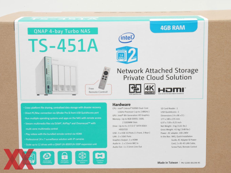 QNAP TS-451A im Test - Hardwareluxx