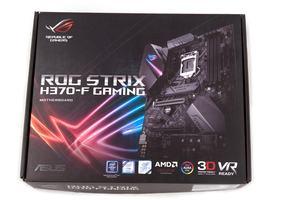 Die Verpackung vom ASUS ROG Strix H370-F Gaming
