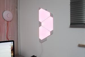 Nanoleaf Lichtpanele mit Rhythm-Modul