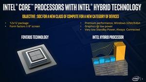 Intel Lakefield Presse-Briefing